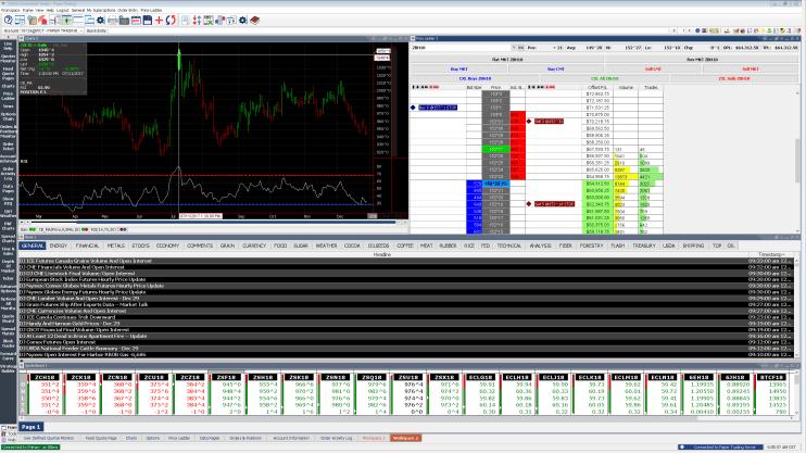 Walsh Continental Trader Screenshot