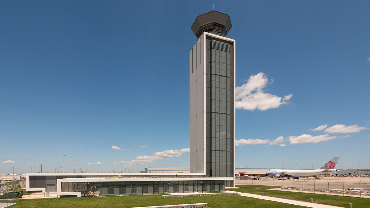 OHare International Airport  South Air Traffic Control Tower