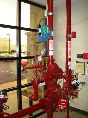 Dry Pipe Sprinkler Systems – Inspection, Testing