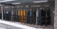 improper pressurized compressed gas cylinder storage ...