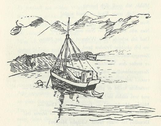 Norwegisches Fischerboot