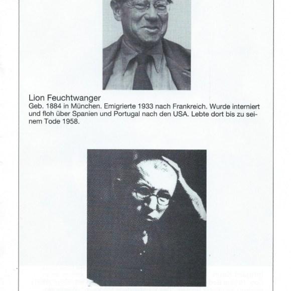 """Programmheft """"De verbrannten Dichter"""" von Walter Stapper, Seite 9"""