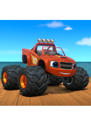 Blaze And The Monster Machines The Big Ant Venture : blaze, monster, machines, venture, Blaze, Monster, Machines, Ant-venture