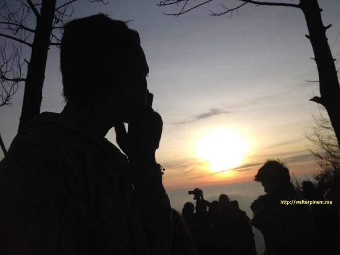 Golden Sunrise Sikunir Dieng Plateau