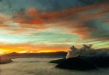 sunrise gunung bromo