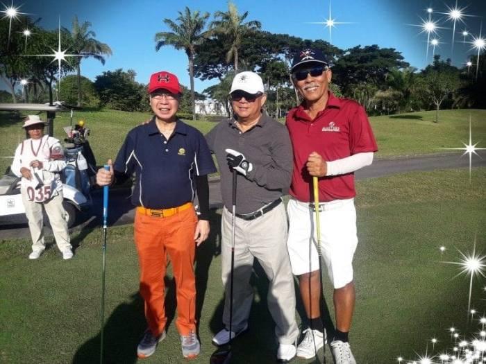 ariel-as-golfer