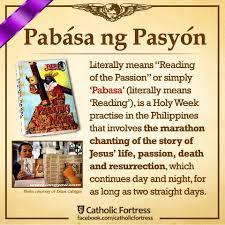 pabasa-pasyon