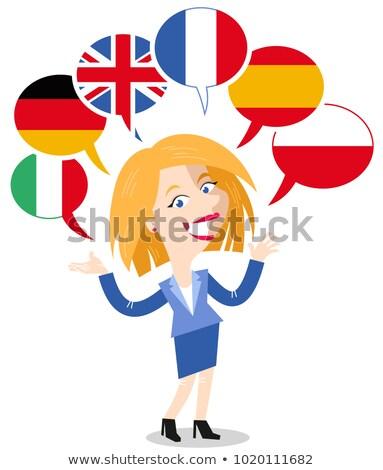 WOMAN-MANY-LANGUAGES