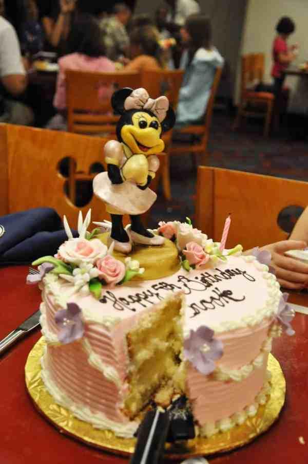 Birthday Cakes At Disney World