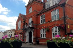 A photo of Waltham Abbey Town Hall