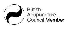Acupuncture symbol