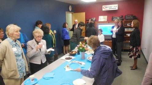 Reception at WCAC-TV