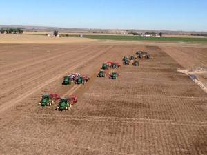 Walther Farms Colorado Harvest with John Deere and Spudnik