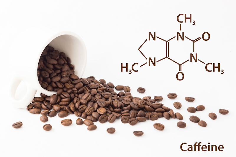 Waar is de cafeïne?
