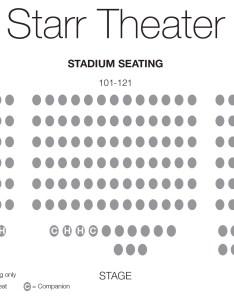 Starr theater seating chart for relaxed performances walton arts center also rh waltonartscenter