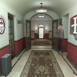 Visual design of Walton Hall