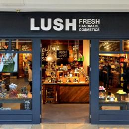 Lush Cosmetics is a chain known for their all-natural beauty products.