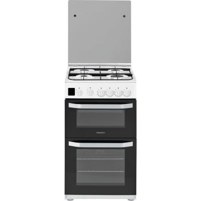 HOTPOINT HD5G00CCW 50 cm Gas Cooker – White