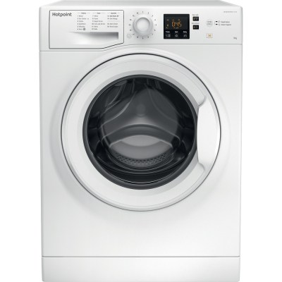 HOTPOINT NSWF943CW Washer 9kg 1400spin White