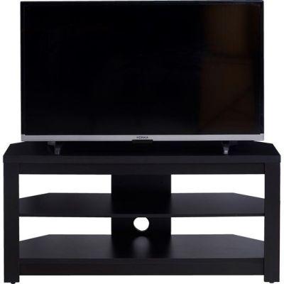 TTAP MEM-1000-BLK3 Memphis Black TV Stand, 1000mm