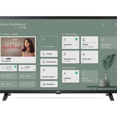 LG 32LM637BPLA 32″ Smart HD Ready HDR LED TV