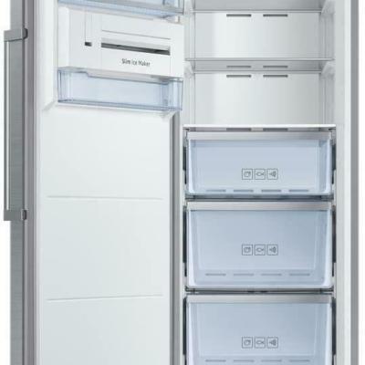 SAMSUNG RZ32M71257F/EU Tall Frost Free Freezer, Refined Steel