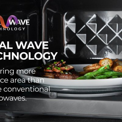 Tower KOR9GQRT 900W 26L Touch Microwave Oven – Black