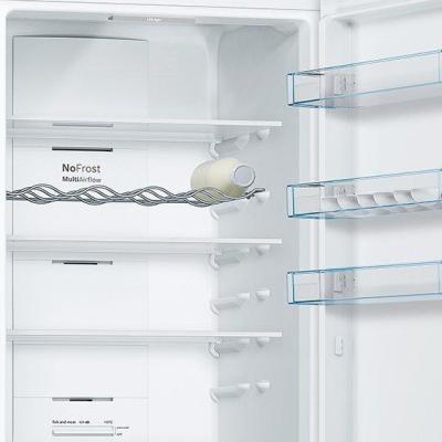 BOSCH KGN39VWEAG 60cm Fridge Freezer – White – Frost Free