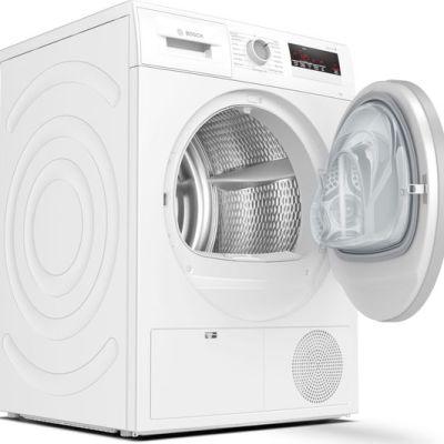 BOSCH WTN85201GB 7 kg Condenser Tumble Dryer – White