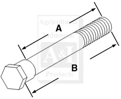 UT0245 Axle Knee Extension Bolt---Replaces 405584R2