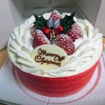 【ケーキ】クリスマスケーキを半額以下で買って切らずにそのまま食べてみた