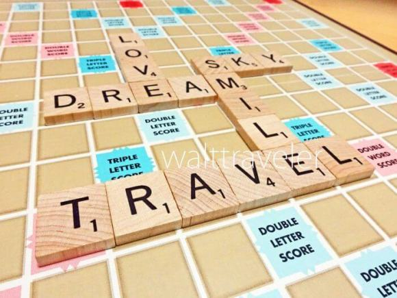 Scrabble スクラブル