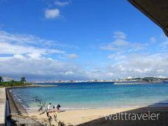 那覇空港から近い波の上ビーチが綺麗!モノレールで気軽にアクセス!