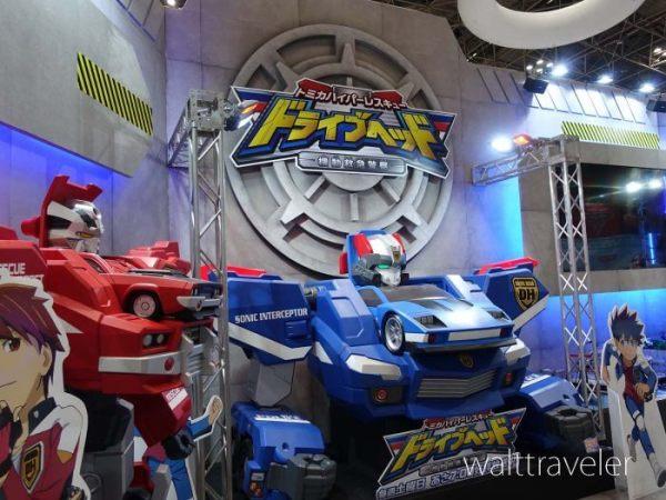 東京おもちゃショー2017 タカラトミー ドライブヘッド