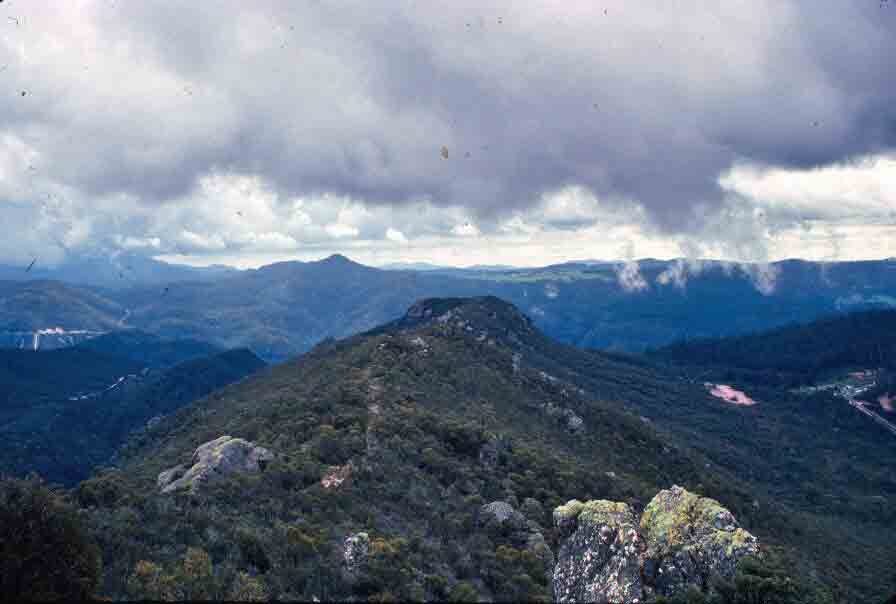 View from Round Mountain Lookout.
