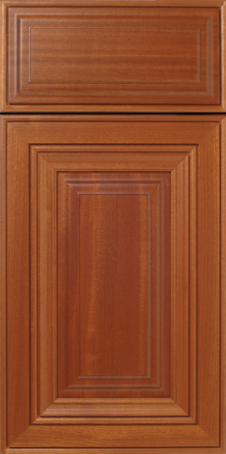 Sapele Mitered Cabinet Doors  WalzCraft