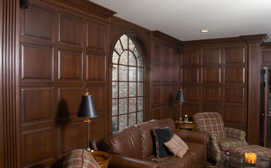 Custom Cherry Wainscot Paneling  Millwork by A Cut Above