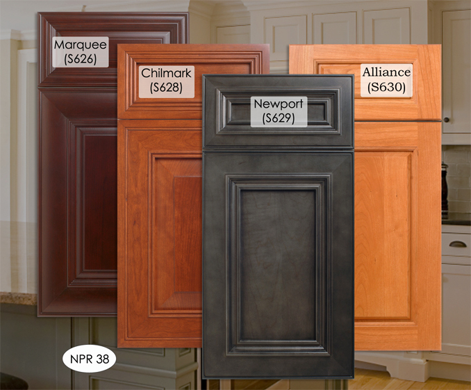 The Latest Stains and Finsihing colors for Kitchen