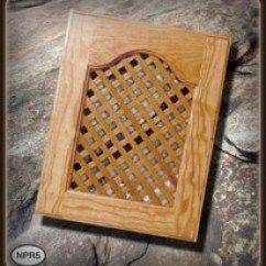 Kitchen Cabinet Inserts And Dining Room Chairs Lattice Doors From Walzcraft |