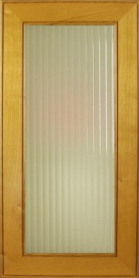 Sandblasted English Reeded Glass for cabinet and accent ...