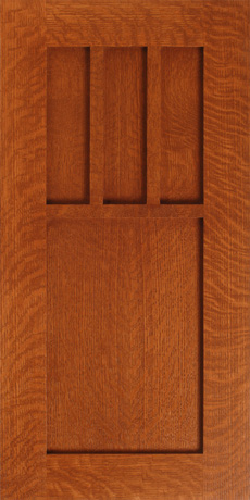 Craftsman Style Cabinet Doors from WalzCraft  WalzCraft