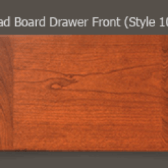 New Kitchen Cabinet Doors Unpainted Cabinets Drawer Fronts | Walzcraft