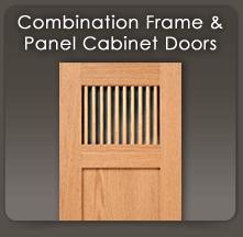 Custom Accent Cabinet Door Styles  WalzCraft