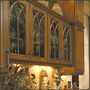 Mullion  Muntin Designs for Cabinet Door Frames with