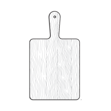 White Wood Board Png