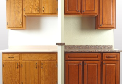 Refinishing Kitchen Cabinets Diy
