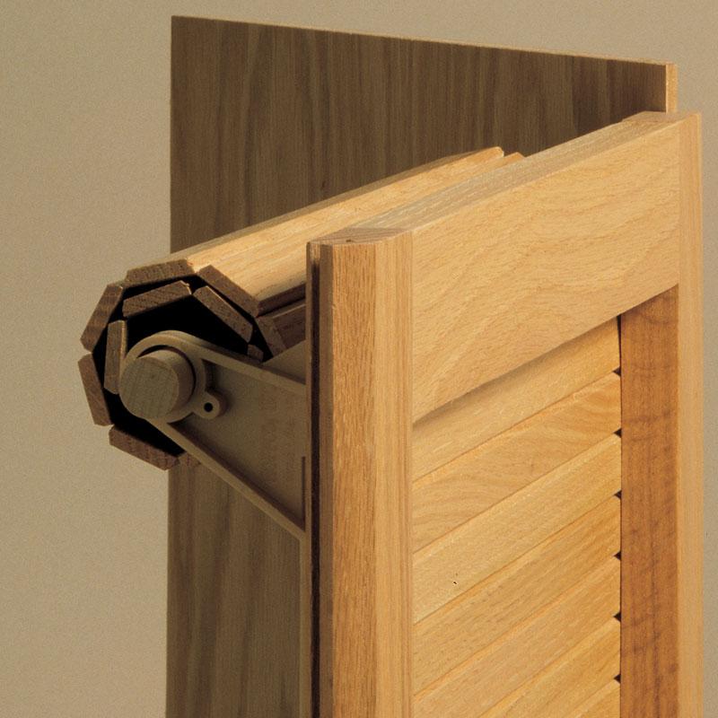 Tambour Door & Track System For Custom Appliance Garages