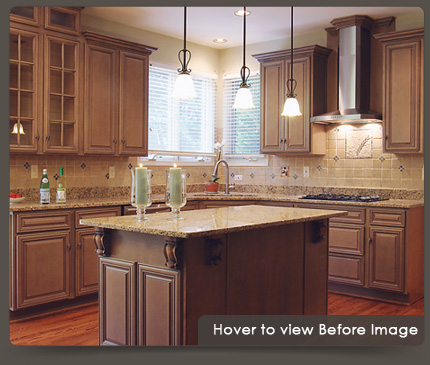 kitchen refacing rustic cart cabinet and products walzcraft before after