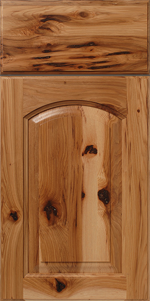Rustic Hickory Raised Panel Cabinet Doors  WalzCraft