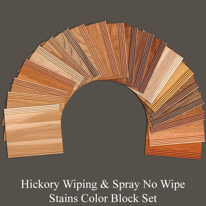 Hickory Wiping Amp Spray No Wipe Stains Color Block Set